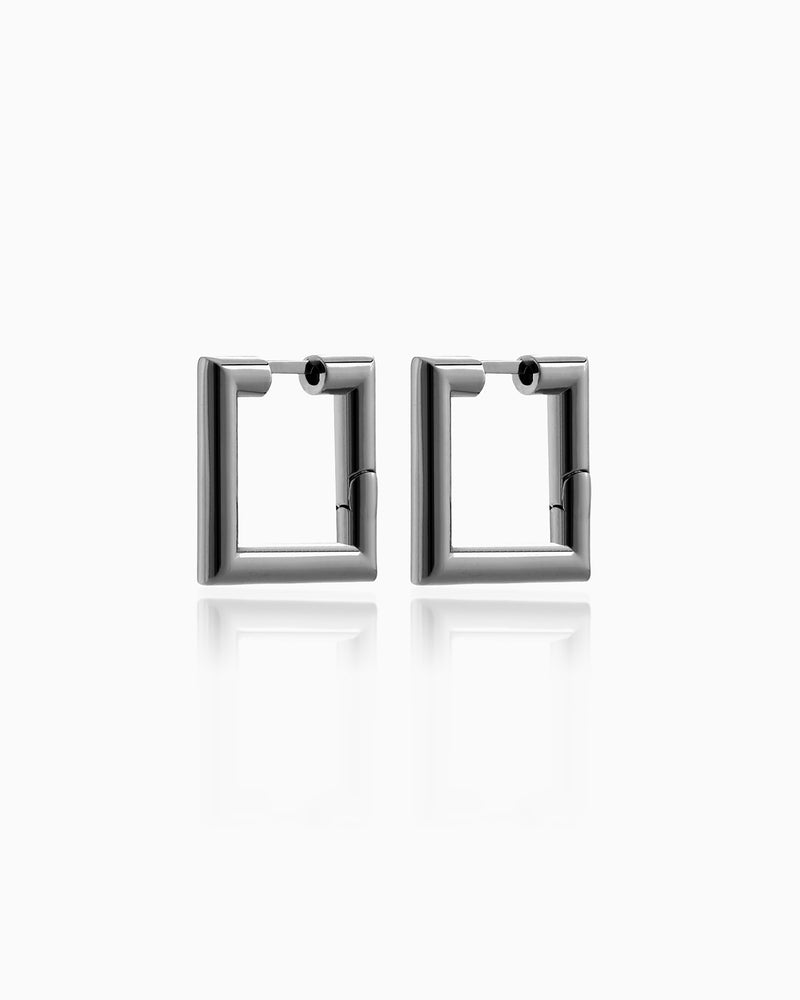 EARRING HELENA RUTHENIUM