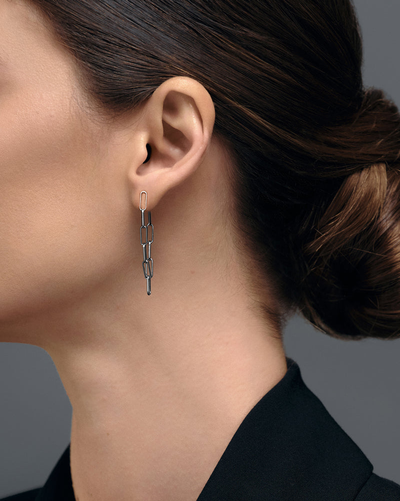 EARRING KAREN RUTHENIUM
