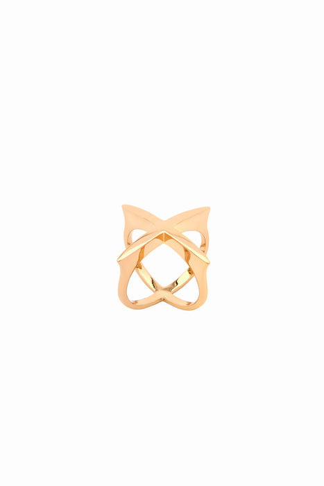 Ring Galaxia Basic Gold