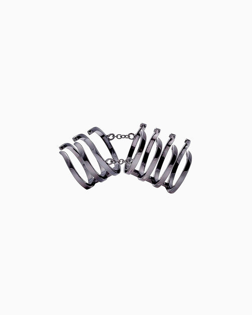 ARMOUR HOOK BASIC RING RUTHENIUM