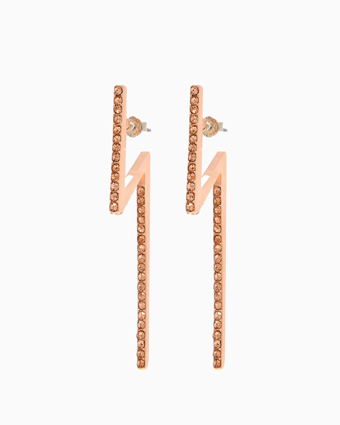 FLASH EARRINGS ROSE GOLD