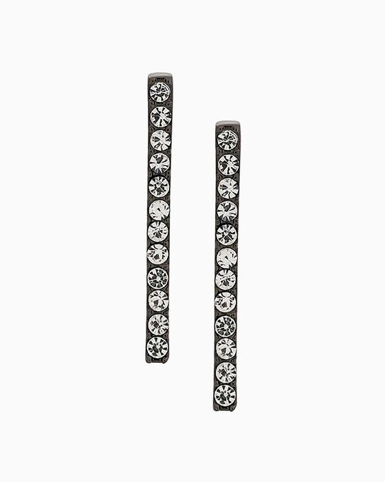 Earrings Lobo Line Black Diamond
