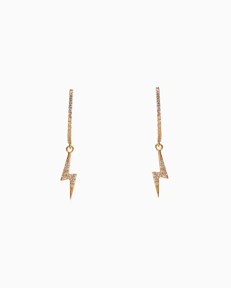 EARRING MINI FLASH GOLD