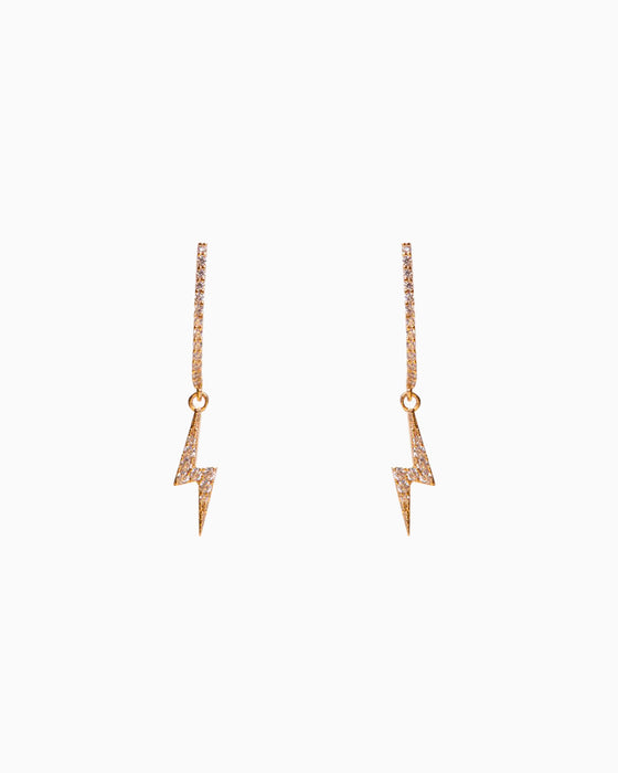 Earring Mini Flash Rose Gold
