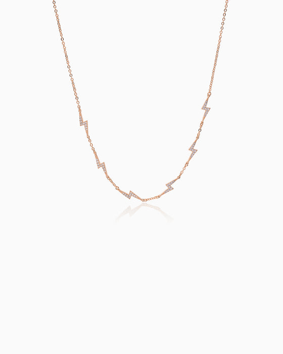 LACE MINI FLASH ROSE GOLD
