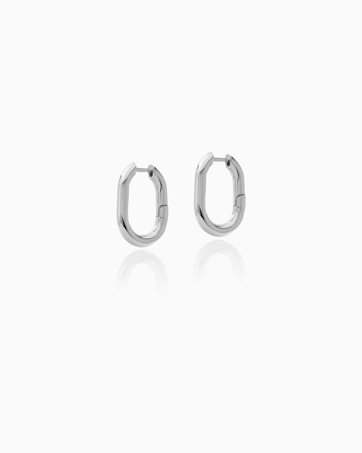 EARRING CHRISTY SILVER