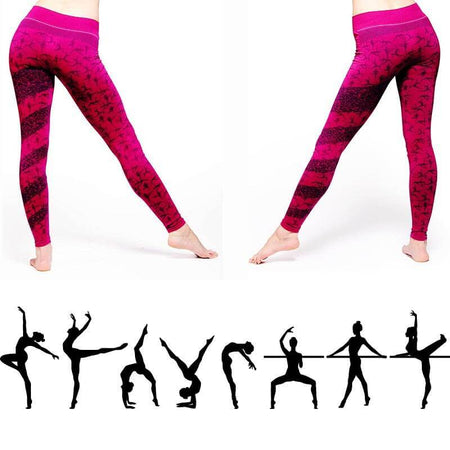 Vetement yoga - Legging imprimé - Asanas Hatha yoga - Achamana