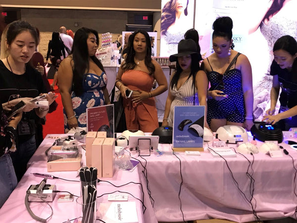 premiere orlando, beauty,show,nail,drill,lamp,customer,meet,live