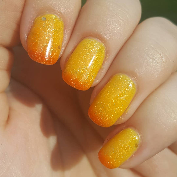 nail art, nail design, summer, sunset, fashion, style, nail polish, beauty