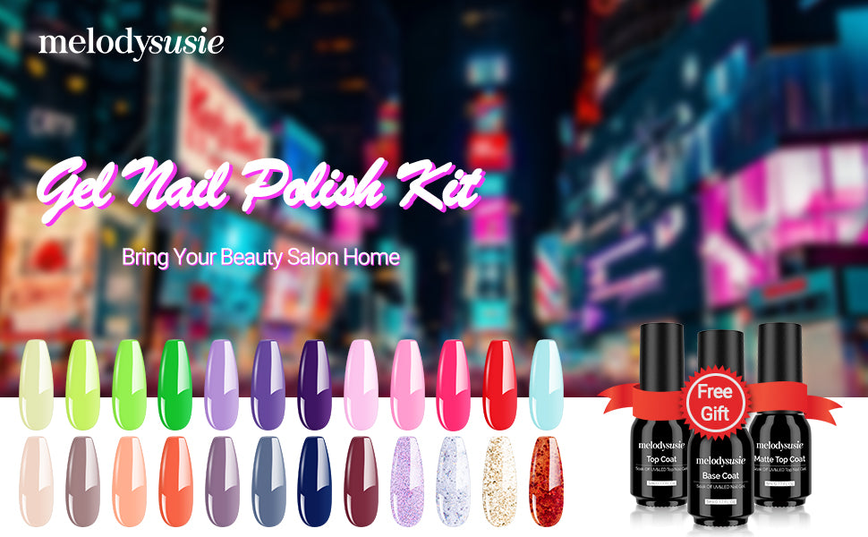 gel nail polish 24 colors