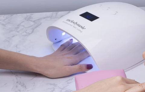 54w led/uv nail lamp