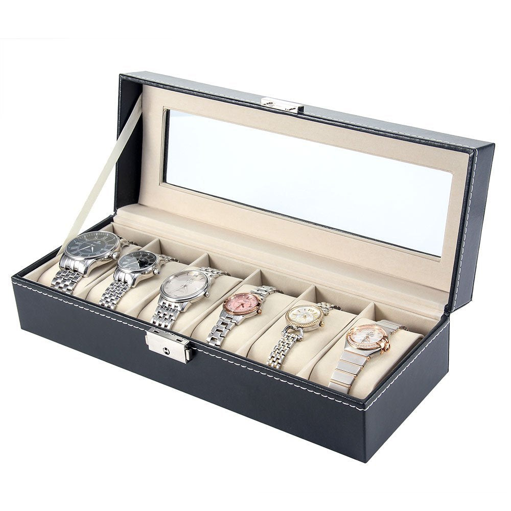 Watch Storage Organizer-6 slots