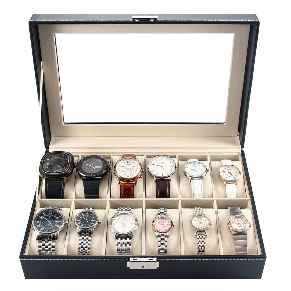 Watch Storage Organizer-12 slots