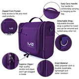 Large Waterproof Toiletry Bag-purlpe