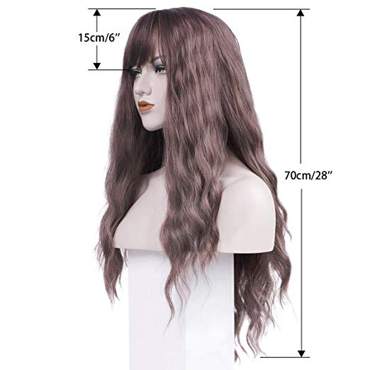 Long Curly Wavy Wig