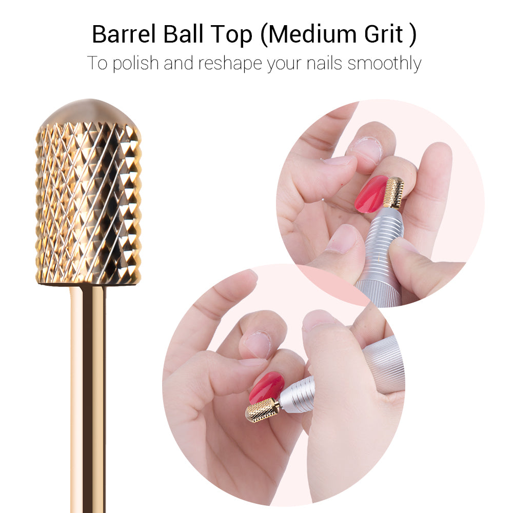 Gold Carbide Nail Drill Bits