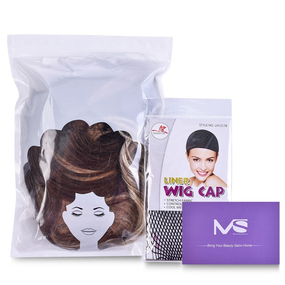 Mid-length Loose Wave Wig-MS054