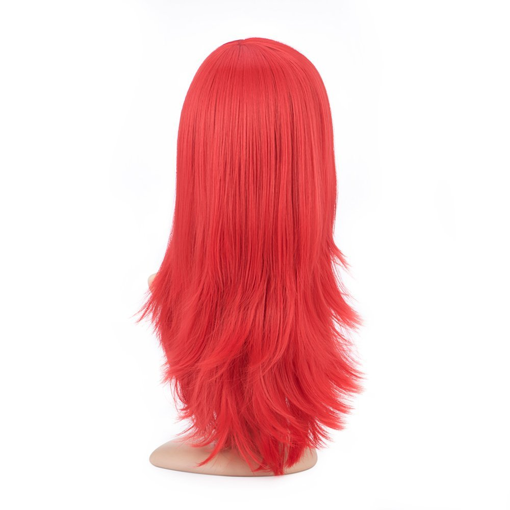 Cosplay Red Curly Wig