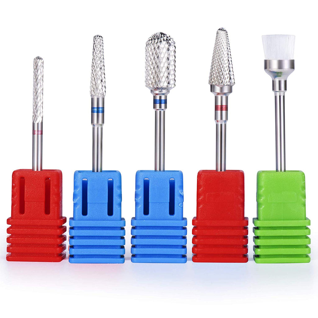 Carbide Nail Drill Bits Set