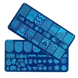 3-Pack Nail Art Stamping Plate