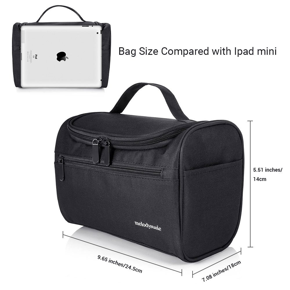 Waterproof Travel Toiletry Bag-black