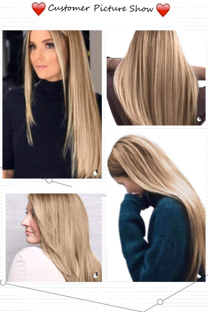 Light Blonde Lace Front Wigs