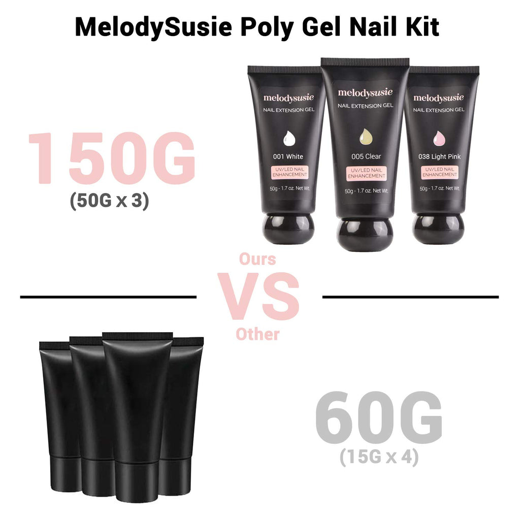MelodySusie Polygel Nail Gel Kit