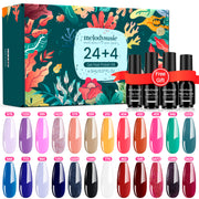 Colorful 24+4 Gel Polish Kits