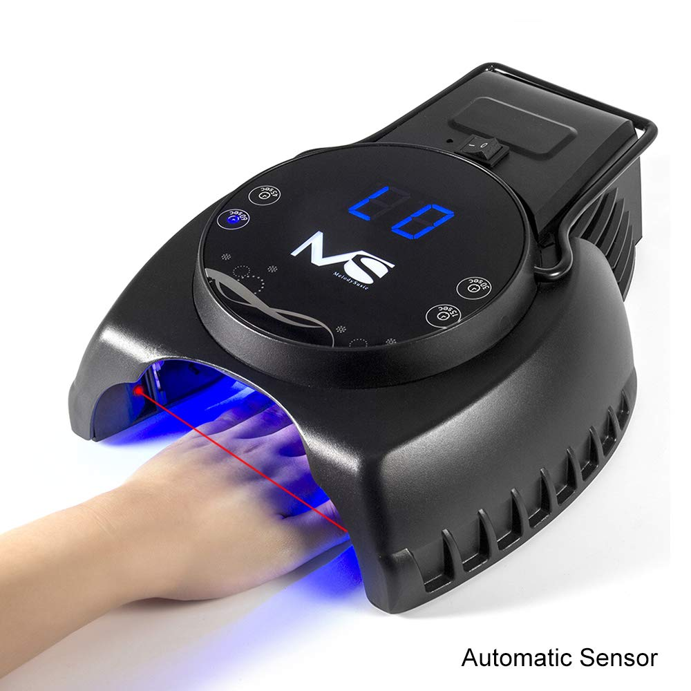 MelodySusie Professional 60W Nail Dryer Auto Sensor with 4 Timer Setting