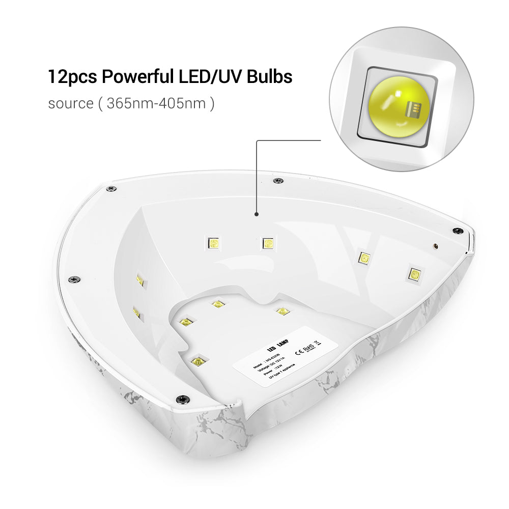 Pro12W Smart LED/UV Nail Lamp