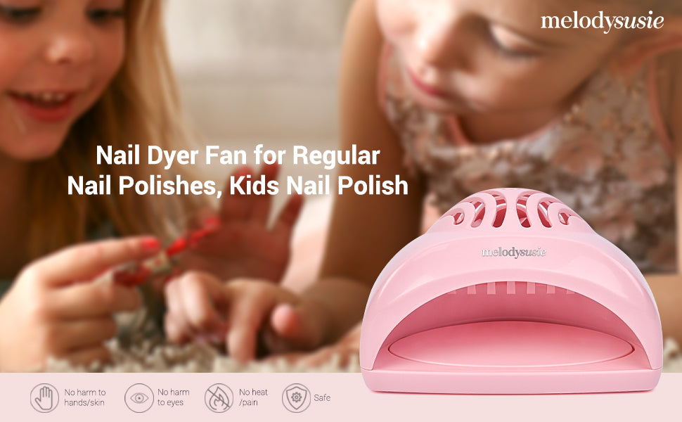 Mini Fan Nail Lamp