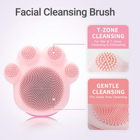 Cat Paw Facial Cleansing Brush