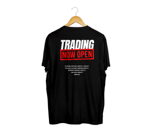 Trading Now Open T-Shirt