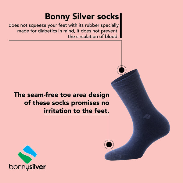 Bonny Silver Socks Characteristic Features