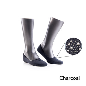 12% Pure Silver - No Show Socks For Active Lifestyles