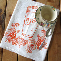 Flour Sack Tea Towel – Cheers
