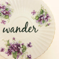 Upcycled Vintage Saucer