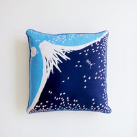 Fuji Throw Pillow