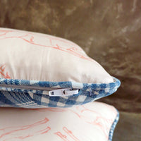 Giddy Up Throw Pillow (Patchwork)