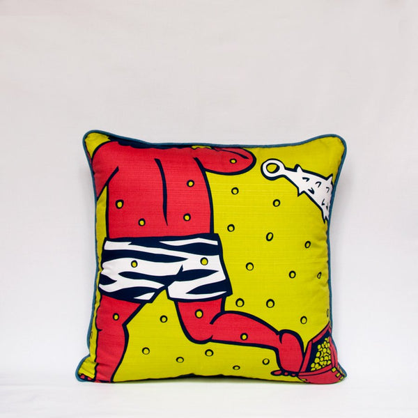 Setsubun Throw Pillow