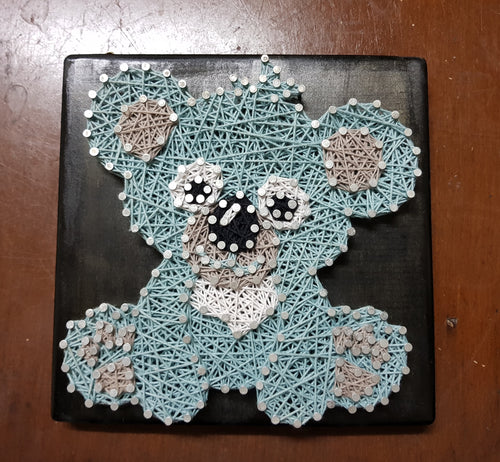 Koala Bear String Art - Shazz Art