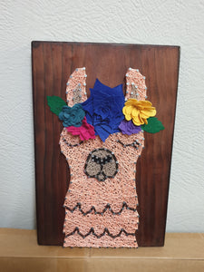 Alanna the Llama String Art