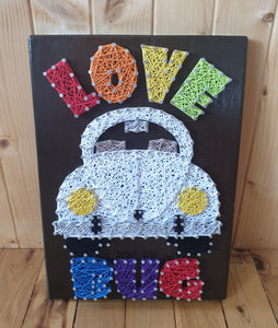 Love Bug Stringart - Shazz Art