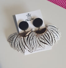 Load image into Gallery viewer, Feather Statement Studs - Shazz Art