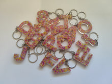Load image into Gallery viewer, Sprinkle Alphabet Keyring - Shazz Art