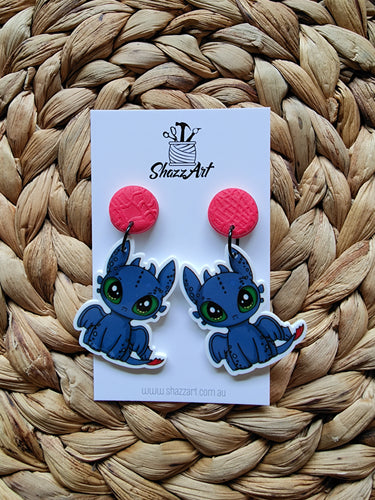 Dragon Fury Earrings