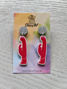 Vibrator Earrings