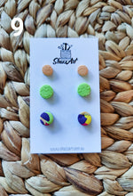 Load image into Gallery viewer, Miniature Stud Packs for multi pearced ears - Shazz Art