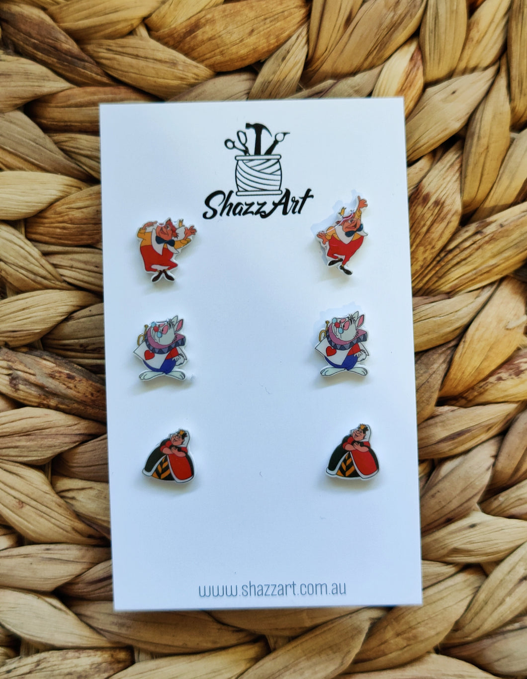Alice in Wonderland themed Stud Pack