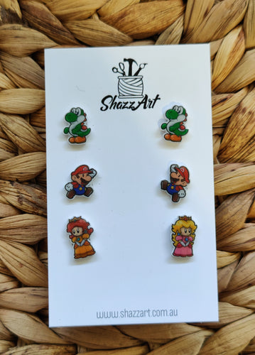 Mario Themed Stud Pack